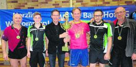 Tischtennisspieler der DJK gewinnen ihre Klasse in Rehau